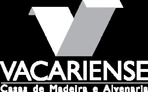 Vacariense Logo Vertical Branco